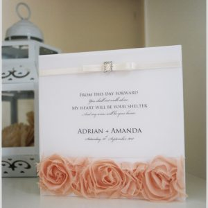 AMANDA - Wedding Invitation Design