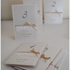 Catherine Table Numbers